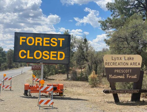 Officials closing Prescott National Forest Friday, June 25; Some lakes, forest roads will remain accessible