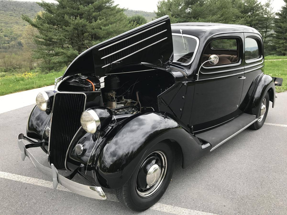 1936 Ford Tudor Sedan - Firewall