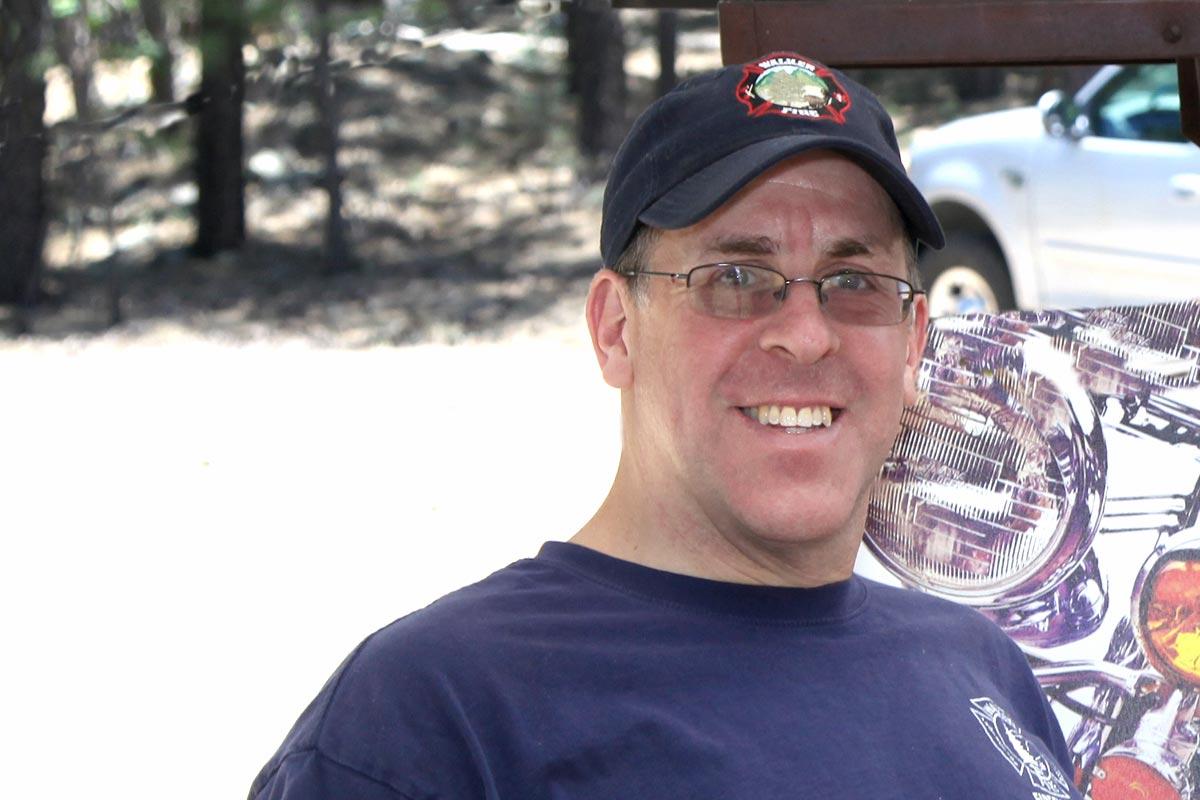 Walker Fire Chief Roger Nusbaum