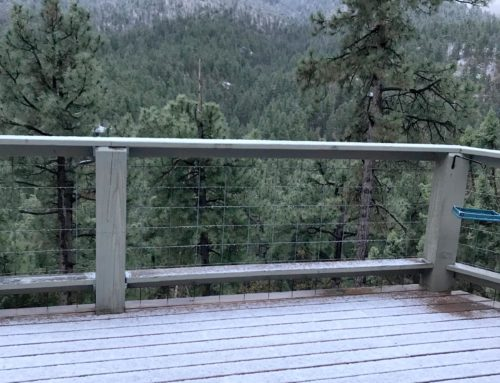 Snow on May 2, 2018