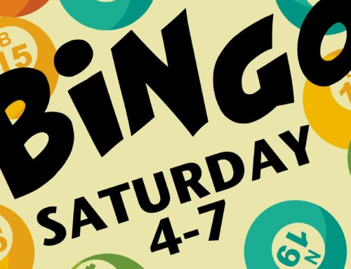 BINGO – This Saturday