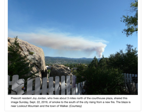 Fire erupts near Walker; evacuations ordered for Lookout, Maverick areas | The Daily Courier | Prescott, AZ