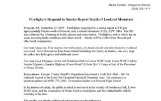 Johnson Fire Press Release