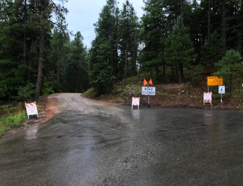 "Johnson Fire – ""Ready"" Condition Lifted Due To Rain."