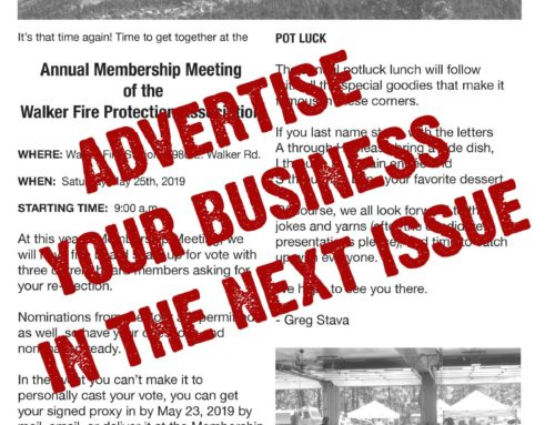 WFPA Spring 2020 Newsletter – Ads and Photos Wanted