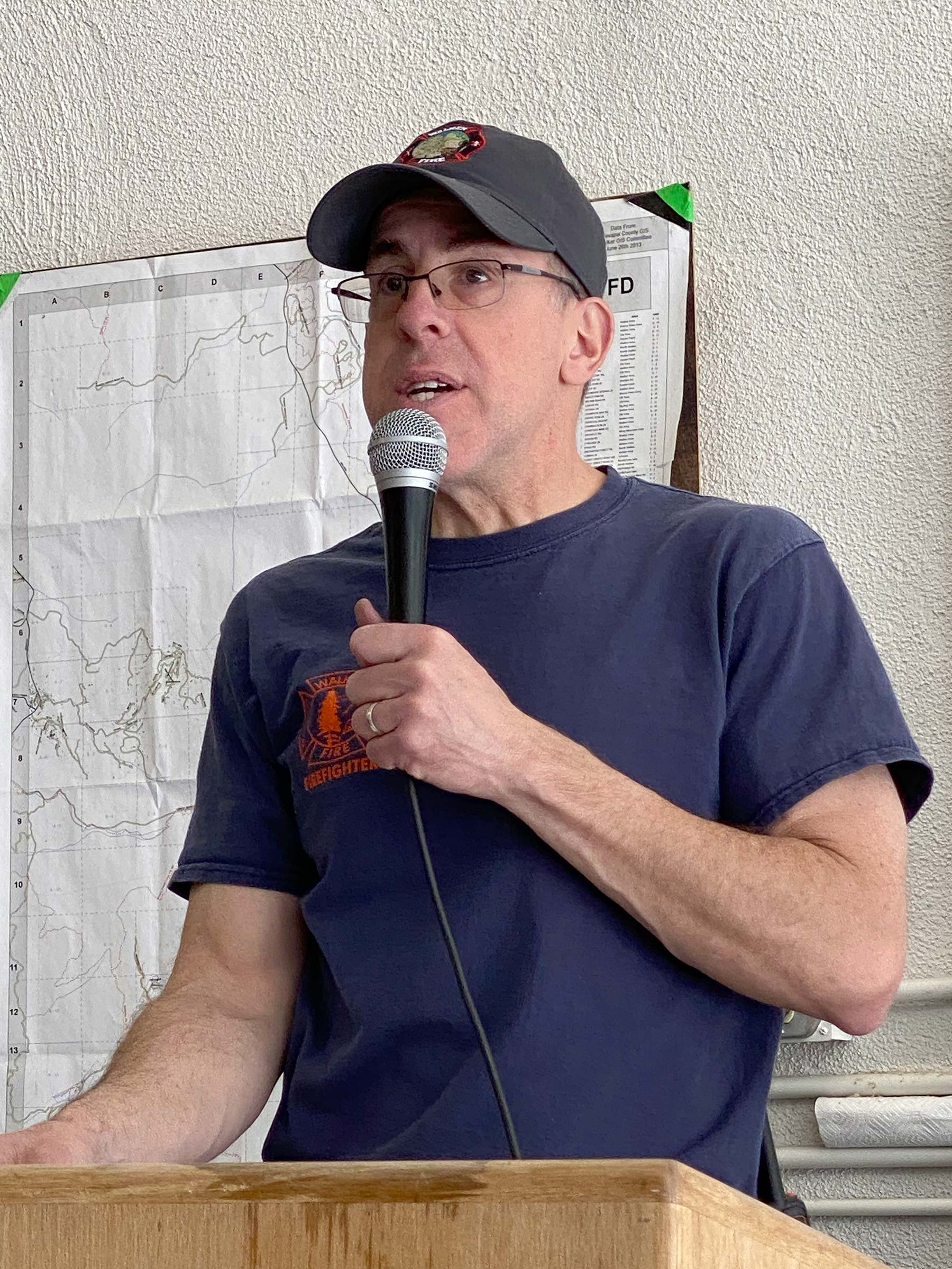 Roger Nusbaum - Fire Chief of Walker Fire Department