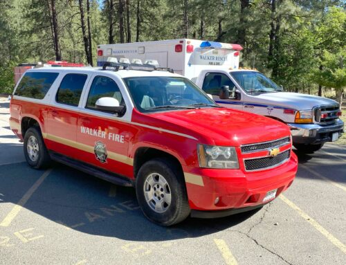 Walker Fire Dept. Gets New Command Vehicle
