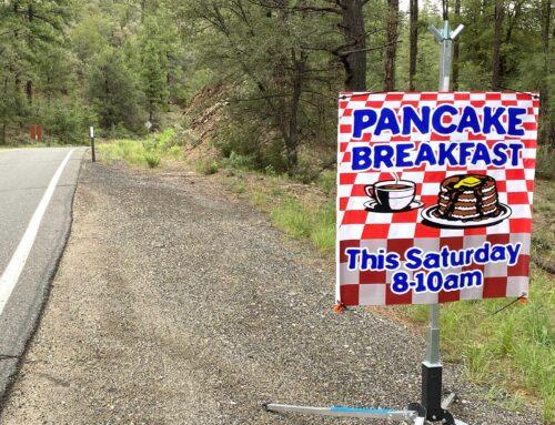 Pancake Breakfast Is This Saturday!